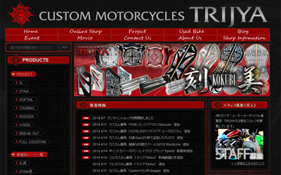 CUSTOM MOTORCYCLE TRIJYA