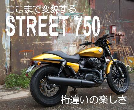 寺田モータースSTREET750カスタム